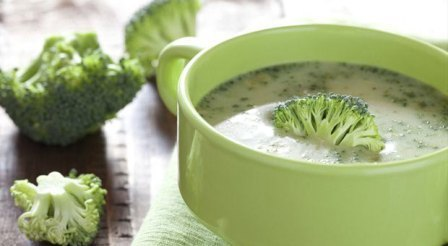 Delicious broccoli soup